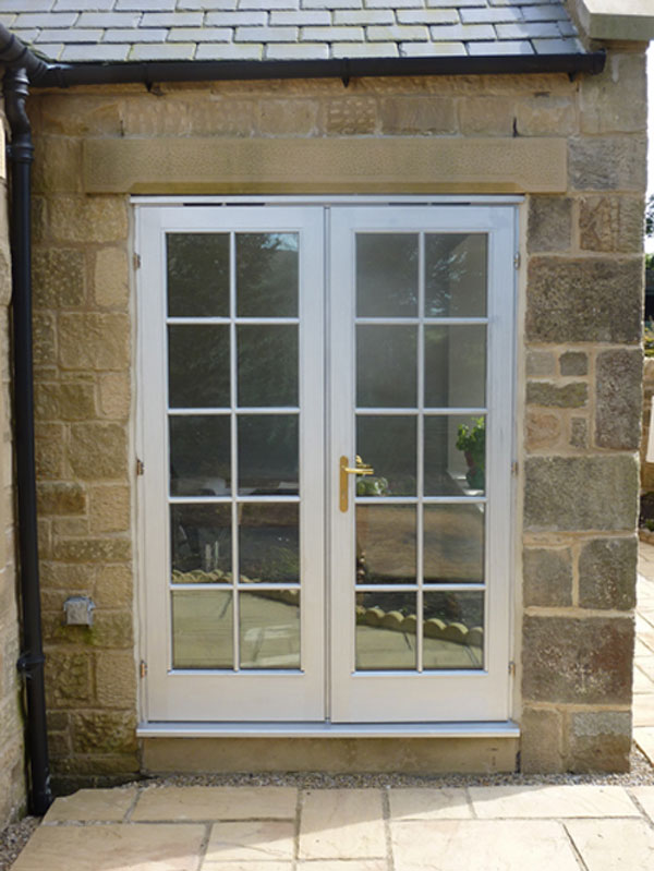 Double Glazing Leeds - UPVC French Door 1
