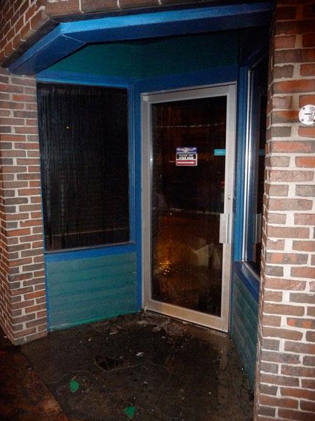 Double Glazing Leeds - Plywood Door 3
